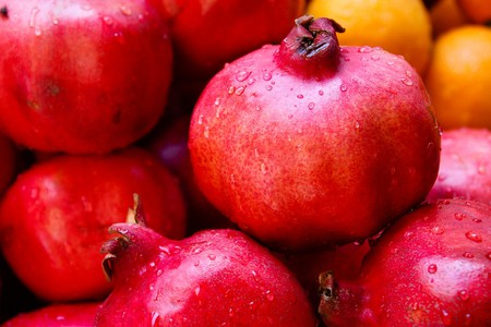 Pomegranates play a huge role in Iraqi cooking and food