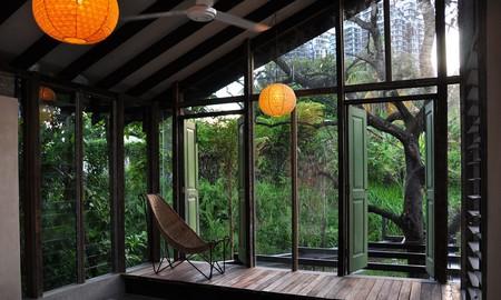 Sitting area at Sekeping Tenggiri