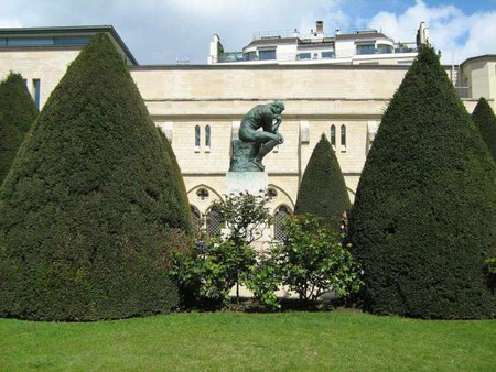 'The Thinker,' Garden of Rodin Museum