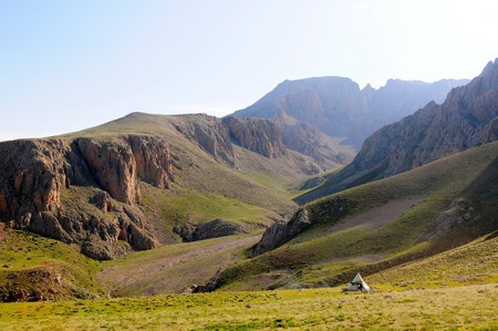 The various shapes and peaks of the Taurus Mountains