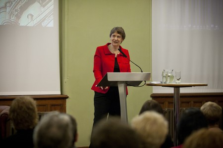 Helen Clark speaking at National Assembly for Wales, 11 April 2012