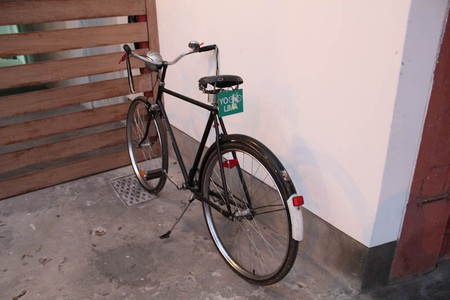 A bicycle in Lima