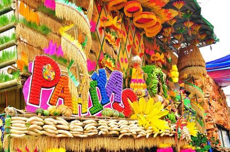 Pahiyas Festival decorations