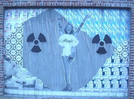 Mural outside the Kitchen at Atomic, Las Vegas