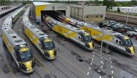 Brightline trains