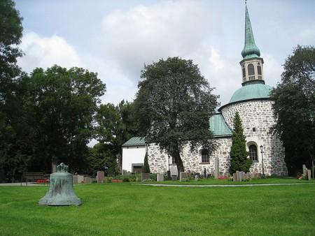 The beautiful Bromma Church   © Bysmon / WikiCommons