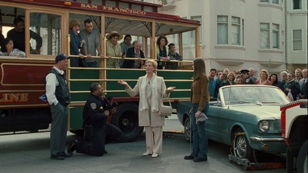 Queen Clarrise gets out of a traffic ticket