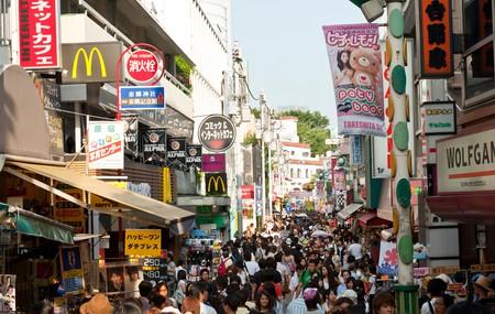 Takeshita Dori shopping street, Harajuku, Tokyo
