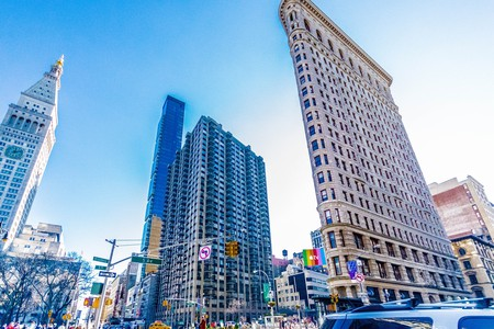 The Flatiron Building is at the heart of Silicon Alley   © Pixabay