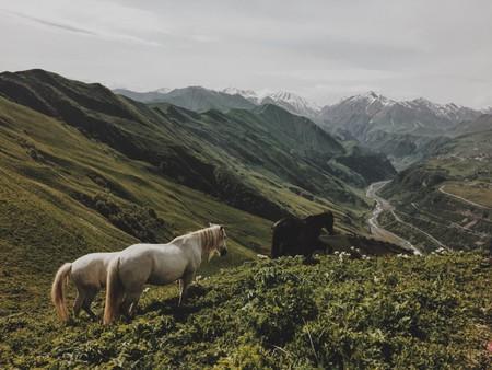 Kazbegi in Georgia   © Giga Khurtsilava / Unsplash``