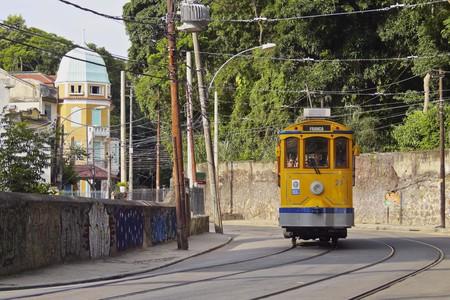 Brazil, City of Rio de Janeiro, The Santa Teresa Tram.