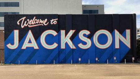 Mural in Jackson, Mississippi