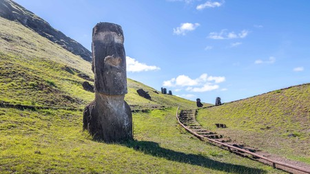 Follow the route of a once important tradition on Easter Island (Rapa Nui) while you still can