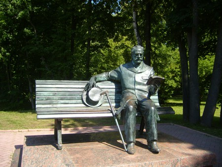 Sculpture of Tchaikovsky in Klin | © Wikimedia Commons