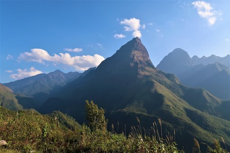 Mount Fansipan from the Pass | Sam Roth