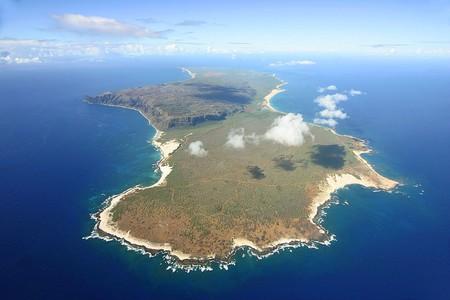 An aerial view of Ni'ihau Island in Hawaii | ©Christopher P. Becker / WikiCommons