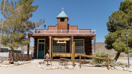 Pioneertown is a former film set in the middle of the desert