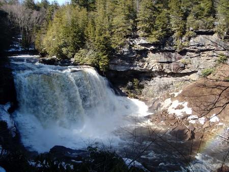 Blackwater Falls in spring