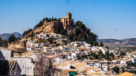 The picturesque Andalusian village of Montefrío