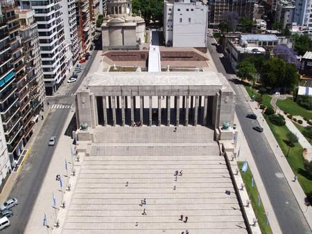 The Flag Monument in Rosario, Argentina