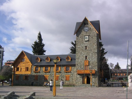 The town hall in Bariloche, Argentina