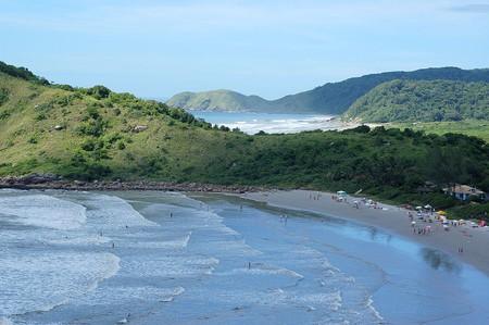 Ilha do Mel island in Brazil