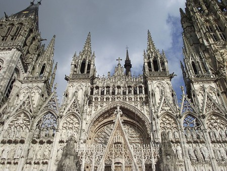 Facade of the Rouen Cathedral