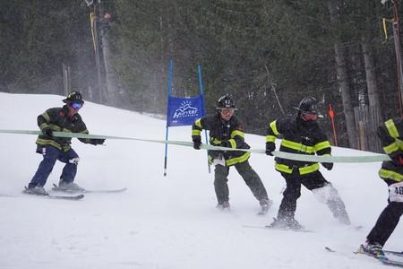 2018 FDNY Firefighter Ski Race | Courtesy of Hunter Mountain