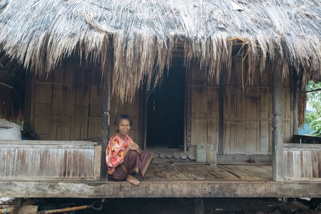 The Sasak traditional village in Ende, Indonesia