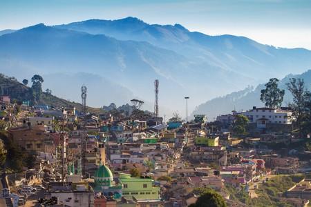 A view of Kodaikanal town