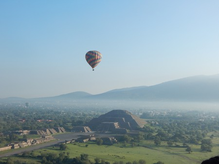The archaeological complex of Teotihuacan