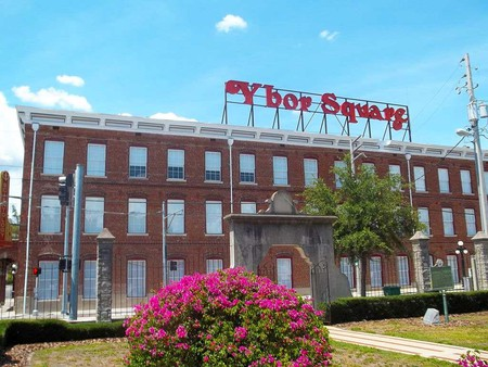 Ybor Square in Tampa, Former Home of Vicente Martinez-Ybor's Cigar Factory