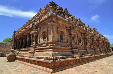 Airavateshwarar Temple near Kumbakonam is a UNESCO World Heritage Site
