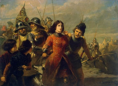 The capture of Jean d'Arc by Adolphe Dillens