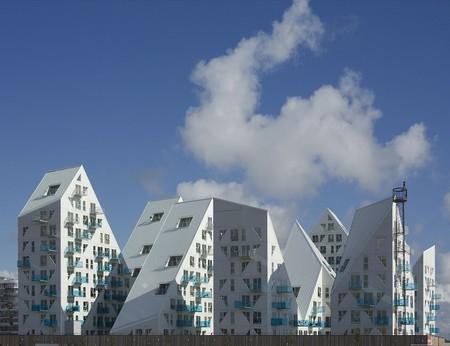 Iceberg, apartment building Aarhus