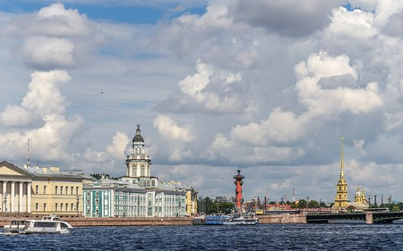 The Vasilievsky Island | © A.Fedorov/Wikimedia Commons