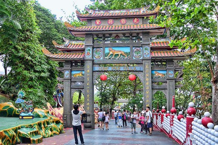 A theme park filled with Chinese mythology