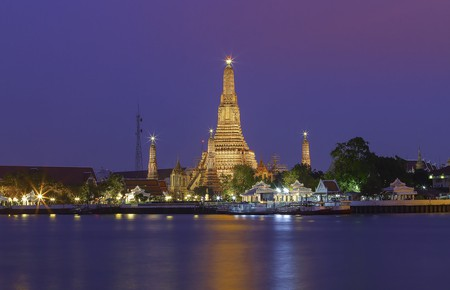 Wat Arun at night: one of Bangkok's most iconic views | © KT Formen / Flickr
