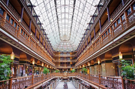 The Arcade in Cleveland