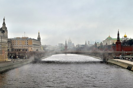 Moscow in the fog | © kolia-fotki/Flickr