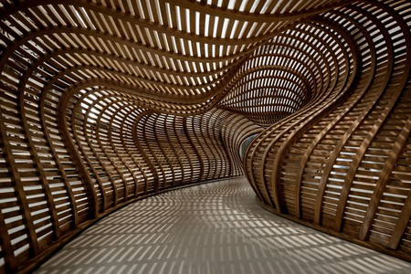 Drift by Matthias Pliessnig is one of the installations at the Renwick Gallery