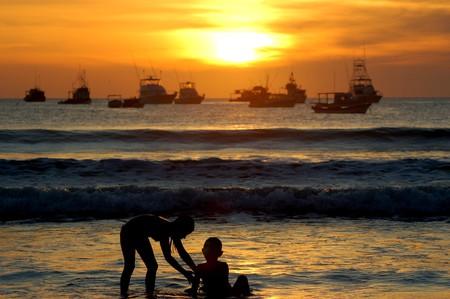 Sunset in San Juan del Sur, Nicaragua