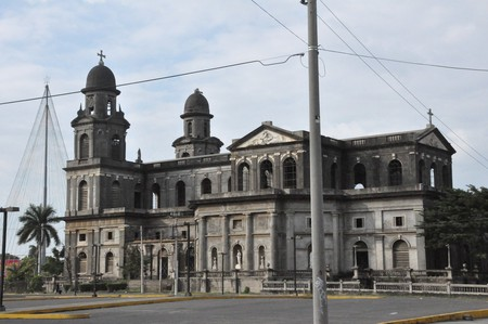 The Old Cathedral in Managua, Nicaragua