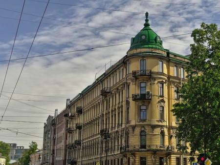 A summer day on Petrogradsky Island
