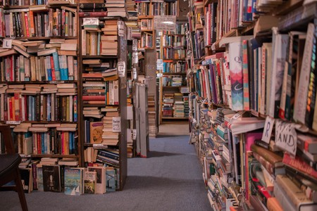 Bookstores are ideal places to expand the mind