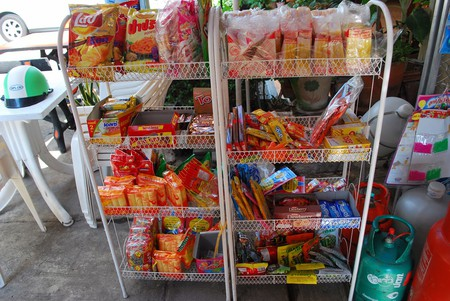 A diverse jumble of goods in a Thai convenience store | © Harsha K R / Flickr