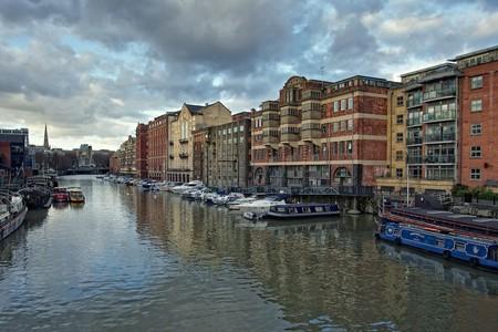 Bristol's beautiful harbour