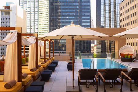 The Joule is one of the top places to stay in Dallas and is also home to an exquisite art collection