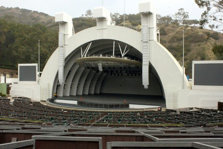 The Hollywood Bowl in Hollywood