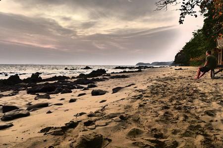 Sunset over Koh Jum